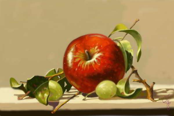 Francesco Pezzali la mela